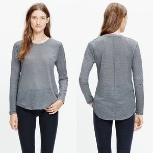 Madewell • Whisper Cotton Long Sleeve Top • Medium